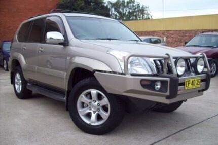 2004 Toyota Landcruiser Prado KZJ120R GXL (4x4) Bronze 4 Speed Automatic Wagon Windsor Hawkesbury Area Preview