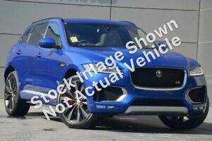 2016 Jaguar F-PACE X761 MY17 35t AWD First Edition Blue 8 Speed Sports Automatic Wagon Kirrawee Sutherland Area Preview