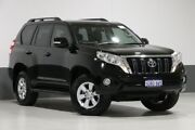 2015 Toyota Landcruiser Prado GDJ150R MY16 GXL (4x4) Black 6 Speed Automatic Wagon Bentley Canning Area Preview