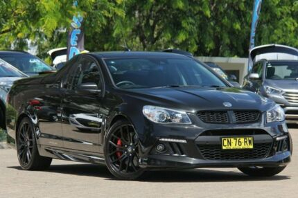 2014 Holden Special Vehicles Maloo GEN F MY15 R8 Black 6 Speed Manual Utility