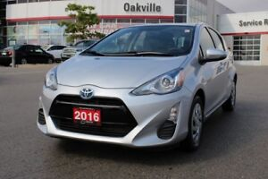 2016 Toyota Prius c No Accidents, One Owner & Toyota Certified