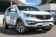 2014 Kia Sportage SL MY14 SLi AWD White 6 Speed Sports Automatic Wagon Victoria Park Victoria Park Area Preview