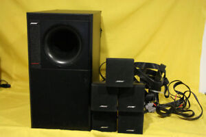 Home Theater Bose Acoustimass 6 Series II Systeme Haut Parleur