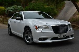2013 Chrysler 300 LX MY13 C E-Shift White 8 Speed Sports Automatic Sedan St Marys Mitcham Area Preview