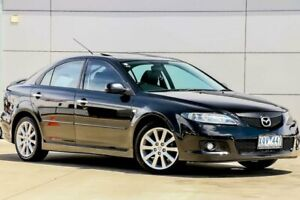 2007 Mazda 6 GG1032 MY07 Sports Black 6 Speed Manual Sedan Pakenham Cardinia Area Preview
