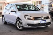 2012 Volkswagen Golf VI MY13 103TDI DSG Comfortline Silver 6 Speed Sports Automatic Dual Clutch Glendalough Stirling Area Preview