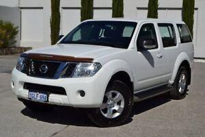 2011 Nissan Pathfinder R51 MY10 ST White 5 Speed Sports Automatic Wagon