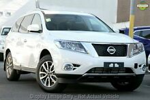 2016 Nissan Pathfinder R52 MY15 ST-L (4x2) Ivory Pearl Continuous Variable Wagon Osborne Park Stirling Area Preview