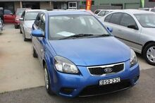 2010 Kia Rio JB MY10 S Blue 5 Speed Manual Hatchback Mitchell Gungahlin Area Preview