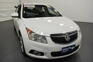 2013 Holden Cruze JH Series II MY13 Equipe Heron White Sports Automatic Hatchback Moorabbin Kingston Area Preview