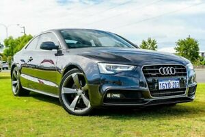 2015 Audi A5 8T MY16 S Tronic Quattro Grey 7 Speed Sports Automatic Dual Clutch Coupe