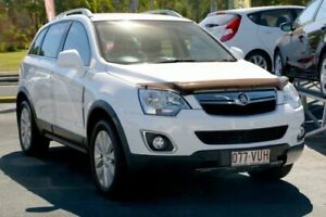 2015 Holden Captiva CG MY15 5 AWD LT White 6 Speed Sports Automatic Wagon Underwood Logan Area Preview