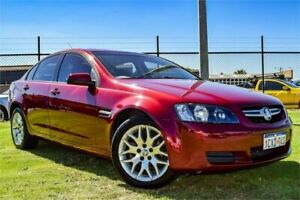 2008 Holden Commodore VE MY09 Omega (D/Fuel) 60th Ann Red 4 Speed Automatic Sedan Greenfields Mandurah Area Preview