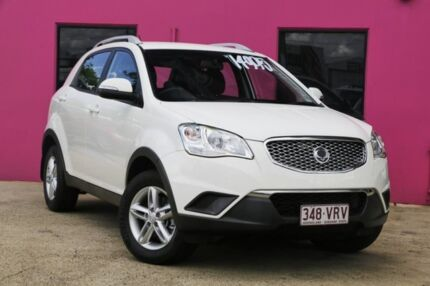 2014 Ssangyong Korando C200 MY15 S 2WD White 6 Speed Manual Wagon Archerfield Brisbane South West Preview