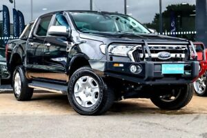 2016 Ford Ranger PX MkII XLT Double Cab Black 6 Speed Manual Utility Parramatta Parramatta Area Preview