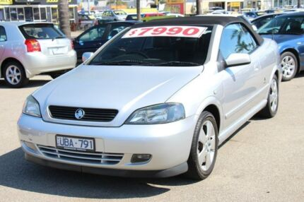 2006 Holden Astra TS MY06 Silver 5 Speed Manual Convertible Heatherton Kingston Area Preview