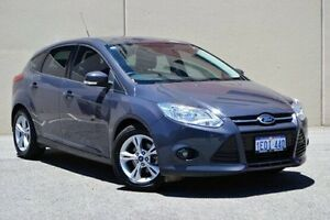2014 Ford Focus LW MKII MY14 Trend PwrShift Grey 6 Speed Sports Automatic Dual Clutch Hatchback Midland Swan Area Preview