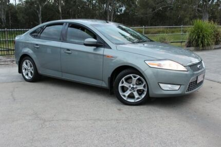 2008 Ford Mondeo MA Tdci Silver 6 Speed Auto Seq Sportshift Hatchback Capalaba West Brisbane South East Preview