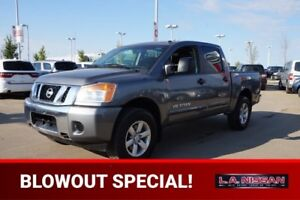2013 Nissan Titan 4X4 CREWCAB SV Back-up Cam,  Bluetooth,  A/C,