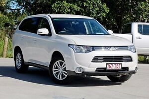 2013 Mitsubishi Outlander ZJ MY13 LS 2WD Starlight 6 Speed Constant Variable Wagon Aspley Brisbane North East Preview