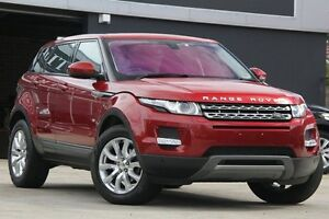 2014 Land Rover Evoque LV MY13 SD4 Pure Red 6 Speed Automatic Wagon Petersham Marrickville Area Preview