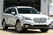 2015 Subaru Outback B6A MY16 2.0D CVT AWD Crystal White 6 Speed Constant Variable Wagon Mount Gravatt Brisbane South East Preview