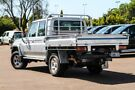 2015 Toyota Landcruiser VDJ79R GXL Double Cab Silver 5 Speed Manual Cab Chassis Cannington Canning Area image 2