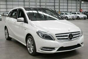 2012 Mercedes-Benz B200 CDI W246 BlueEFFICIENCY DCT White 7 Speed Sports Automatic Dual Clutch Port Melbourne Port Phillip Preview