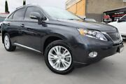 2009 Lexus RX450H GYL15R Sports Luxury Grey 1 Speed Constant Variable Wagon Hybrid Dandenong Greater Dandenong Preview