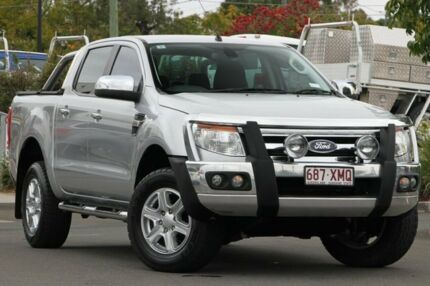 2014 Ford Ranger PX XLT Double Cab Highlight Silver 6 Speed Sports Automatic Utility