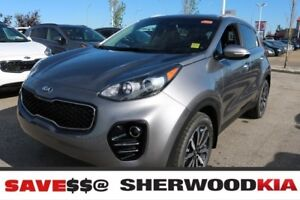 2019 Kia Sportage AWD EX LEATHER SEATS, APPLE CAR PLAY, REAR VIE