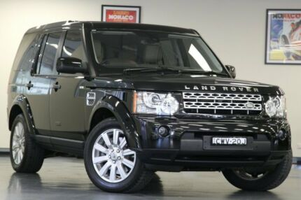 2012 Land Rover Discovery 4 Series 4 MY12 SDV6 CommandShift HSE Black 6 Speed Auto Seq Sportshift Wa North Willoughby Willoughby Area Preview