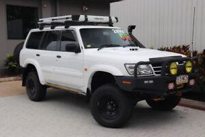 2004 Nissan Patrol GU III MY2003 ST-L White 4 Speed Automatic Wagon