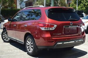 2014 Nissan Pathfinder R52 ST-L (4x4) Red Continuous Variable Wagon Mosman Mosman Area Preview