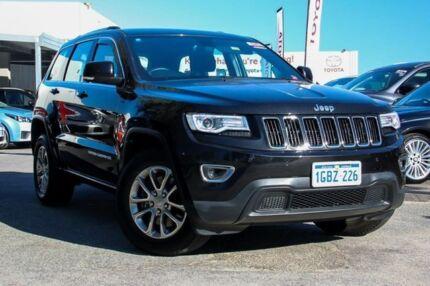 2016 Jeep Grand Cherokee WK MY15 Laredo (4x4) Black 8 Speed Automatic Wagon Osborne Park Stirling Area Preview