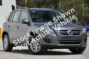2010 Volkswagen Tiguan 5N MY11 125TSI DSG 4MOTION Grey 7 Speed Sports Automatic Dual Clutch Wagon Mount Druitt Blacktown Area Preview