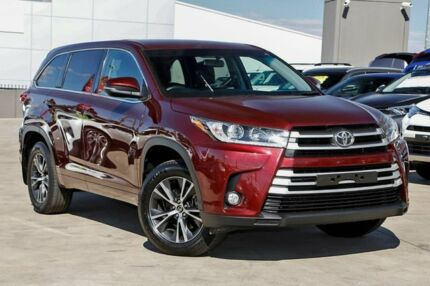 2017 Toyota Kluger GSU55R GX AWD Maroon 8 Speed Sports Automatic Wagon Kirrawee Sutherland Area Preview