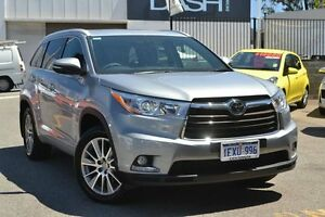 2016 Toyota Kluger GSU55R Grande AWD Silver Sky 6 Speed Sports Automatic Wagon Claremont Nedlands Area Preview