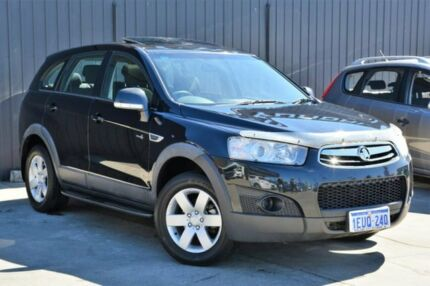2012 Holden Captiva CG Series II MY12 7 SX Black 6 Speed Sports Automatic Wagon Midvale Mundaring Area Preview