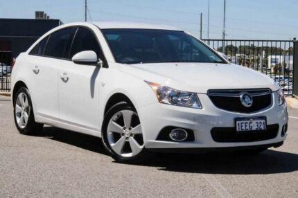2013 Holden Cruze JH MY14 Equipe White 6 Speed Automatic Sedan Wangara Wanneroo Area Preview