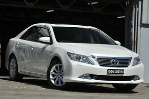 2013 Toyota Aurion GSV50R Presara White 6 Speed Automatic Sedan Mosman Mosman Area Preview