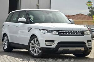 2015 Land Rover Range Rover Sport L494 16MY SDV6 CommandShift HSE White 8 Speed Sports Automatic Osborne Park Stirling Area Preview