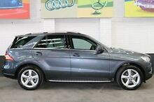 2012 Mercedes-Benz ML250 W166 BlueTEC 7G-Tronic + Grey 7 Speed Sports Automatic Wagon Southbank Melbourne City Preview