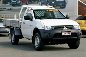 2015 Mitsubishi Triton MN MY15 GL 4x2 White 5 Speed Manual Cab Chassis Cleveland Redland Area Preview