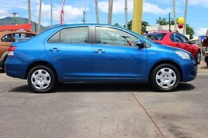 2009 Toyota Yaris NCP93R MY09 YRS Blue 5 Speed Manual Sedan Westcourt Cairns City Preview