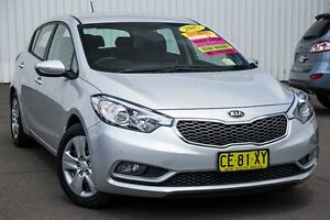 2015 Kia Cerato YD MY15 S Silky Silver 6 Speed Sports Automatic Hatchback Kings Park Blacktown Area Preview