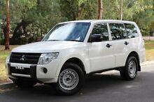 2011 Mitsubishi Pajero NT MY11 GL White 5 Speed Manual Wagon Hawthorn Mitcham Area Preview