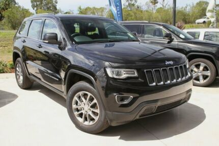 2015 Jeep Grand Cherokee WK MY15 Laredo (4x4) Black 8 Speed Automatic Wagon
