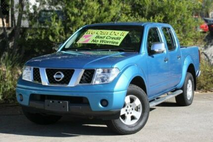 2009 Nissan Navara D40 ST-X Blue 6 Speed Manual Utility