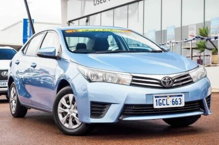 2016 Toyota Corolla ZRE172R Ascent S-CVT Blue 7 Speed Constant Variable Sedan Wangara Wanneroo Area Preview